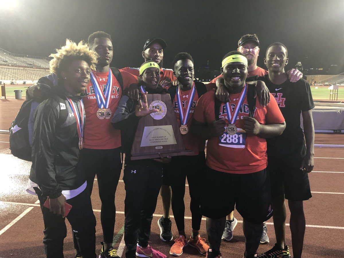 Legacy High School boys track team