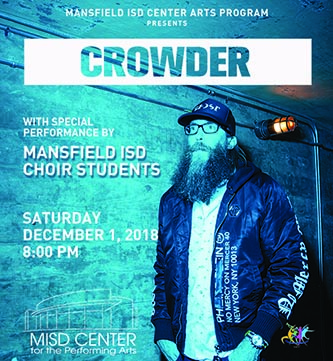 Crowder Promotional Poster