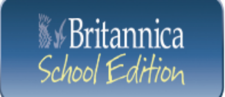 Encyclopedia Brittanica logo and link